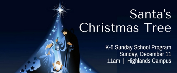 Traditional Worship - K-5 Christmas Program