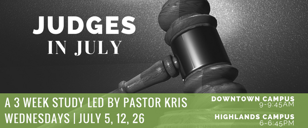 Judges in July BIble Study